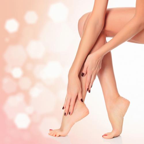 Биоэпиляция ноги полностью